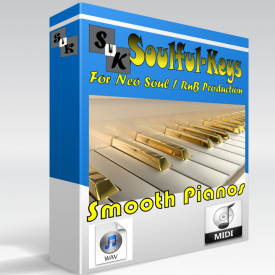 Smooth Pianos – 78 Progressions WAV, MIDI & PDF