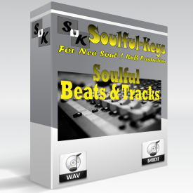 Neo Soul Beats – 13 Tracks with separated instruments & Chord info. – $4.99