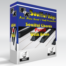 ** Soulful Chords II ** with Bass / Drums for reference - FREE